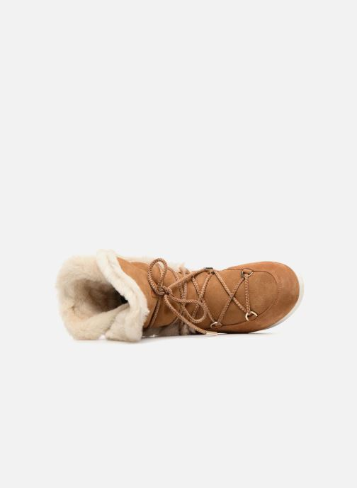Zapatillas de deporte Moon Boot Moon Boot Far Side HIigh Shearling Marrón vista lateral izquierda